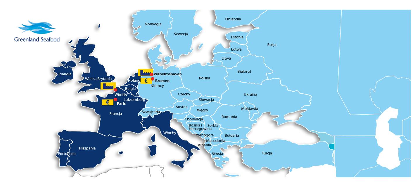 Standortkarte-Polnisch